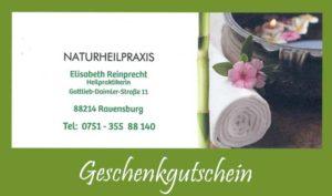 Geschenkgutschein Ravensburg